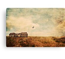 Abandoned building Canvas Print