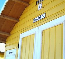 Hogwarts: A Beach Hut by Julia Dawson
