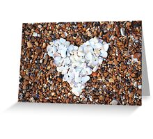 I Love Pebbles Greeting Card