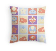 Mario Pop Art Throw Pillow