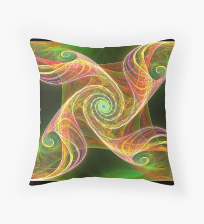 The Tree of Gnarledge Throw Pillow