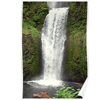 """Lower Multnomah Falls"" Poster"