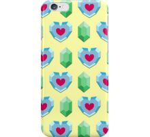Hearts & Rupees iPhone Case/Skin
