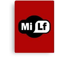 MILF - Wi-Fi Parody Canvas Print