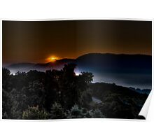 Valley Sunrise Poster