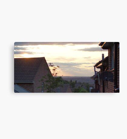 Suburb skyline Canvas Print