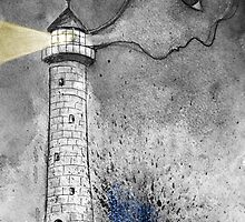 lighthouse keeper by Loui  Jover