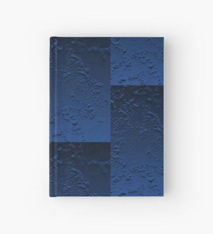 Abstract Blue Hardcover Journal