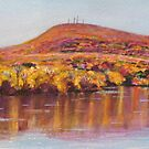 Mt. Tom Autumn Landscape by Richard Nowak