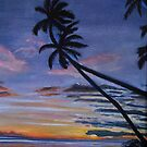 Hawaiian Sunset by Richard Nowak