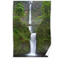 """""""Multnomah Falls"""" Poster"""