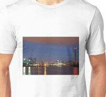 River Clyde at Night Unisex T-Shirt