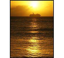 Cruise the caribbean Photographic Print
