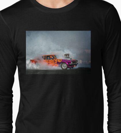 FRYZEM Tread Cemetery Burnout Long Sleeve T-Shirt