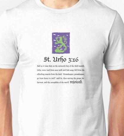 St. Urho 3:16 Unisex T-Shirt