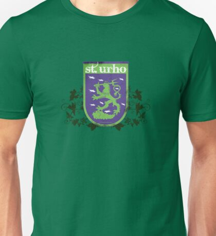 St. Urho Coat of Arms Unisex T-Shirt