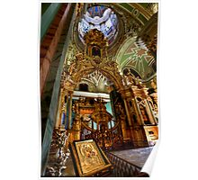 The Iconostasis of Peter the Great Poster