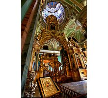 The Iconostasis of Peter the Great Photographic Print