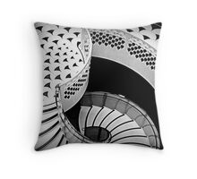 Elegant descent Throw Pillow