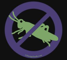 No Grasshoppers Kids Tee