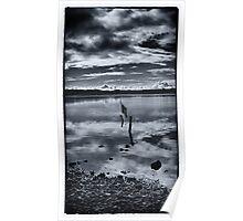 Coastal Piles - Ravenglass Poster