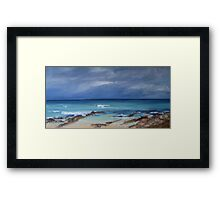 South Boomer Storm Framed Print