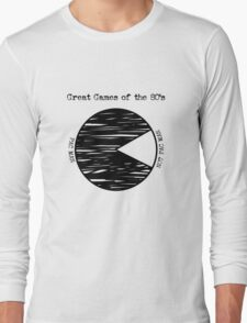 Great Games of the 80's Long Sleeve T-Shirt