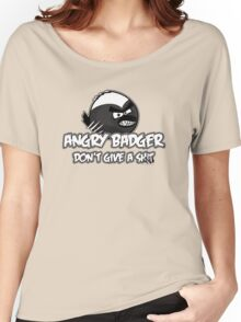Angry Badger B/W Women's Relaxed Fit T-Shirt