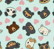 Bear Party by Kelsey Cretcher