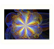 Flouffy Splits-Cylinder Art Print