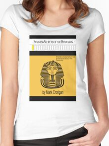 Business Secrets of the Pharoahs (sic) Women's Fitted Scoop T-Shirt