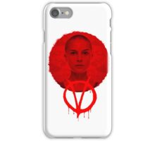 V FOR VENDETTA - HE WAS ALL OF US iPhone Case/Skin
