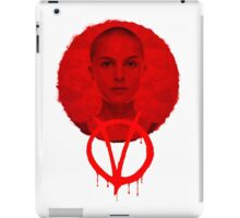 V FOR VENDETTA - HE WAS ALL OF US iPad Case/Skin
