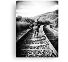 Down The Track Canvas Print