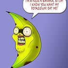 FUCK&#x27;N BANANA (print) by DarthSpanky
