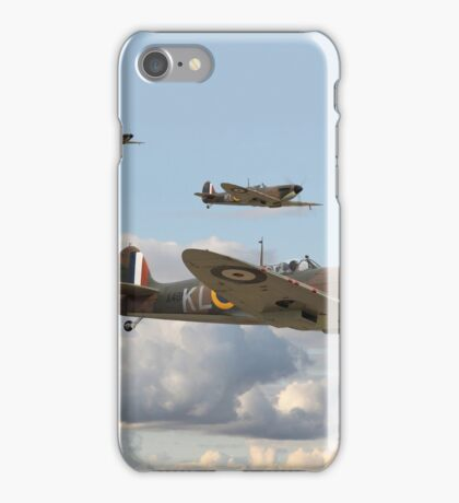 Spitfire - 54 Squadron RAF iPhone Case/Skin