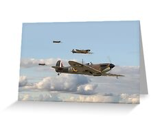 Spitfire - 54 Squadron RAF Greeting Card
