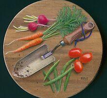 The Big Harvest by Karen  Hull