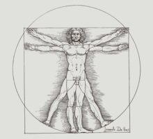 Vitruvian man by Leonardo Da Vinci  by cpinteractive