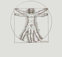 Vitruvian man by Leonardo Da Vinci  T-Shirt