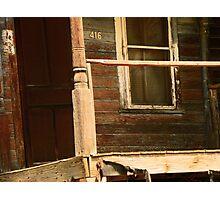 Abandoned House, Abandoned Porch Photographic Print