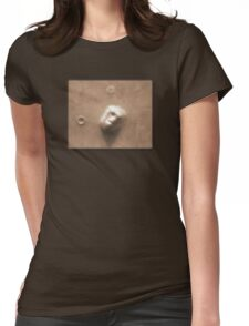 Face on Mars Womens Fitted T-Shirt