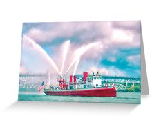 Spouting Off Greeting Card