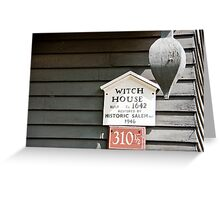 Witch House Greeting Card