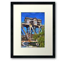The Bridge House Framed Print