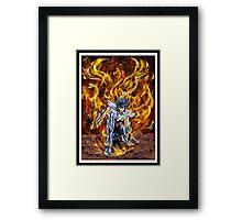 The Rise of Ikki The Phoenix Framed Print