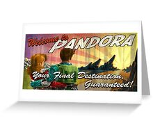 Welcome to Pandora Greeting Card