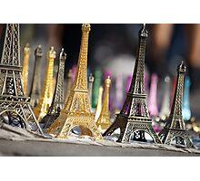 Eiffel Towers Photographic Print
