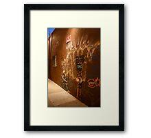 Banksy - No Tresspassing Framed Print