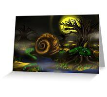 Monster concept art Greeting Card